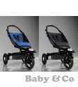 Детская коляска BabyZen ZEN: Black/Blue ice black frame