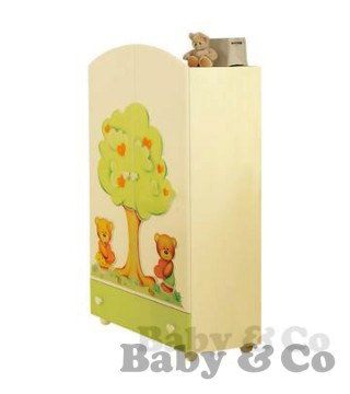 Шкаф Baby Expert Cuore: Shkaf Baby Expert Cuore green