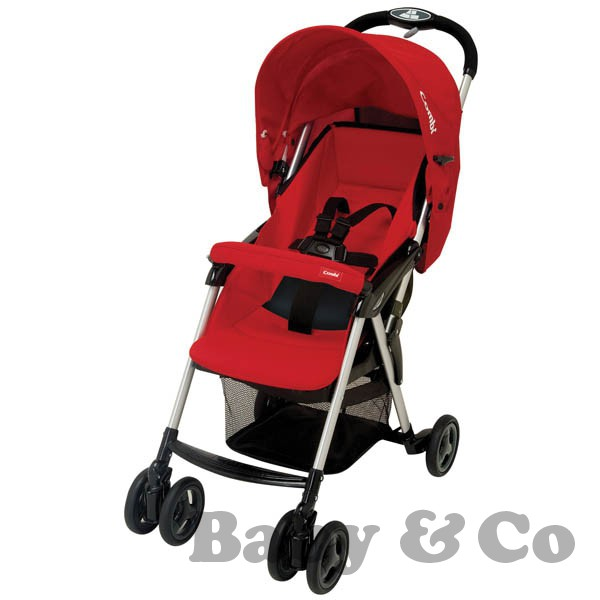 Детская коляска Combi Well Carry: Firebrick red