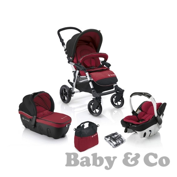 Детская коляска 3 в 1 Concord Fusion Travel Set Sleeper+Intense