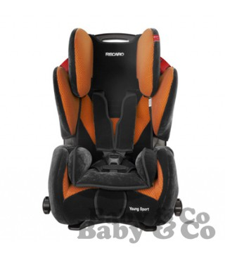 Автокресло RECARO Young Sport: RECARO Young Sport Orange